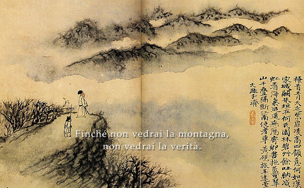 koan zen montagna