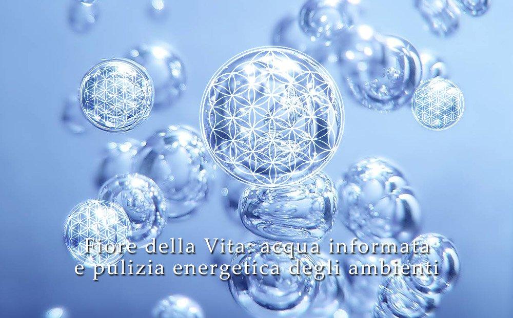 Armonizzare l'acqua e le energie con il Fiore della Vita - Visione Olistica