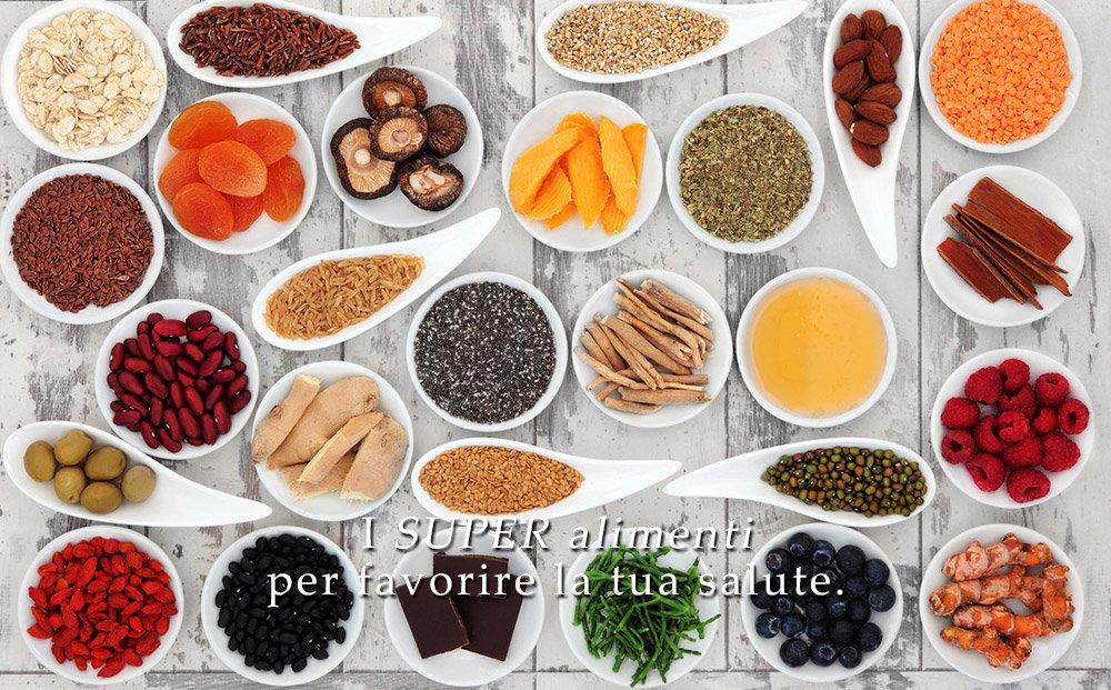 super alimenti per la salute