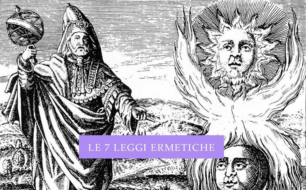 Ermete Trismegisto - le 7 leggi ermetiche