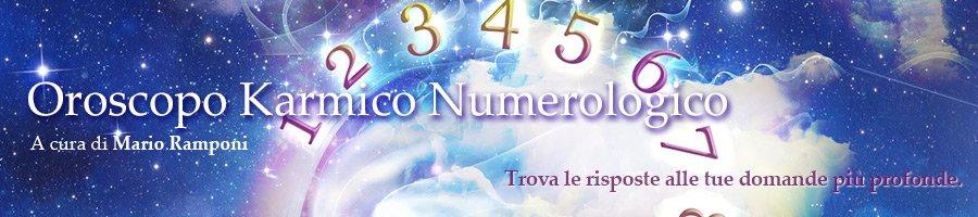 Oroscopo Numerologico a cura di Mario Ramponi