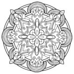 mandala da colorare 5