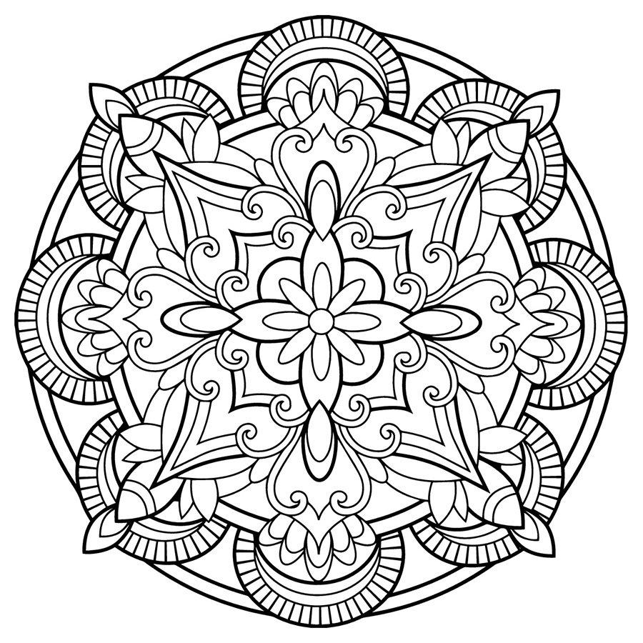 Mandala Rappresentazione Dellio E Delluniverso Visione Olistica