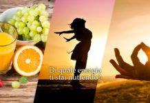 energia nutrizione