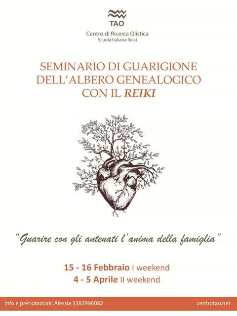 seminario di guarigione albero genealogico
