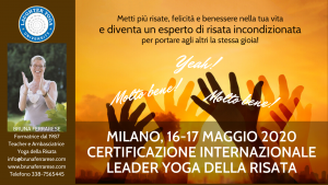 Certificazione LYL MAGGIO 2020