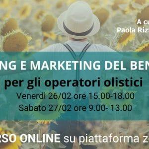 corso marketing operatore olistico