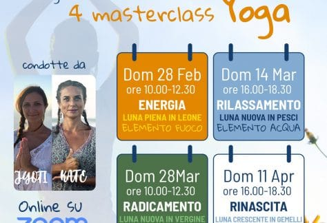 primavera yoga poster