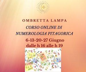 corso numerologia 6 Giugno h 16