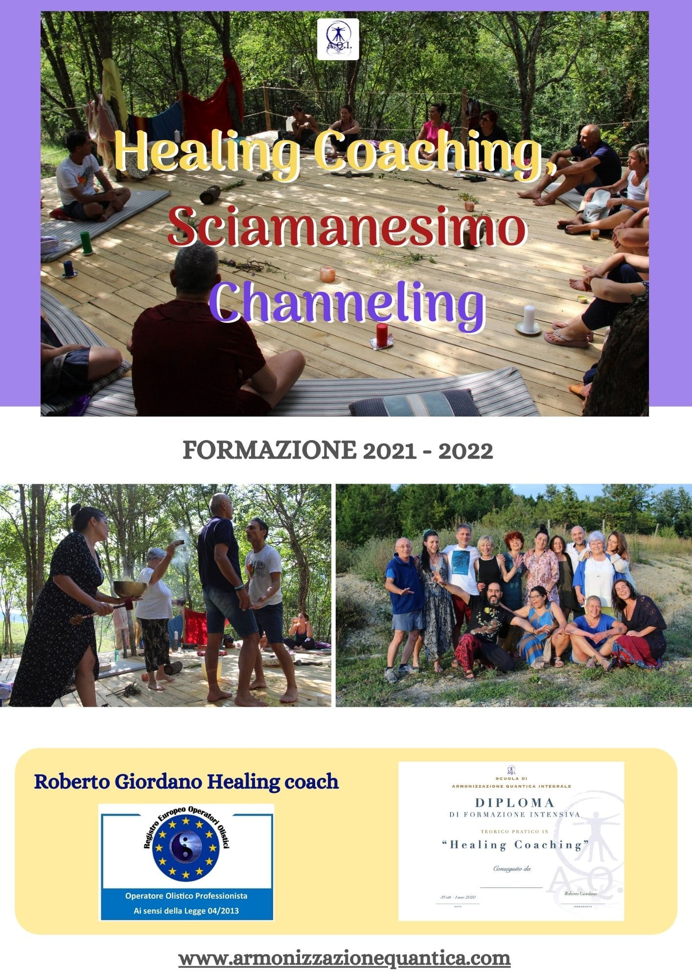 RID Accademia di Formazione Healing Coaching Channeling e Sciamanesimo