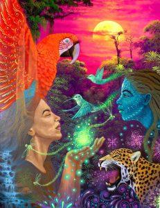 ayahuasca artist